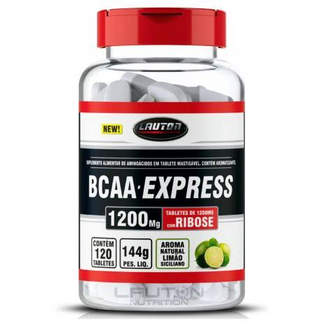 BCAA Express 120 Cápsulas 1200mg LAUTON NUTRITION