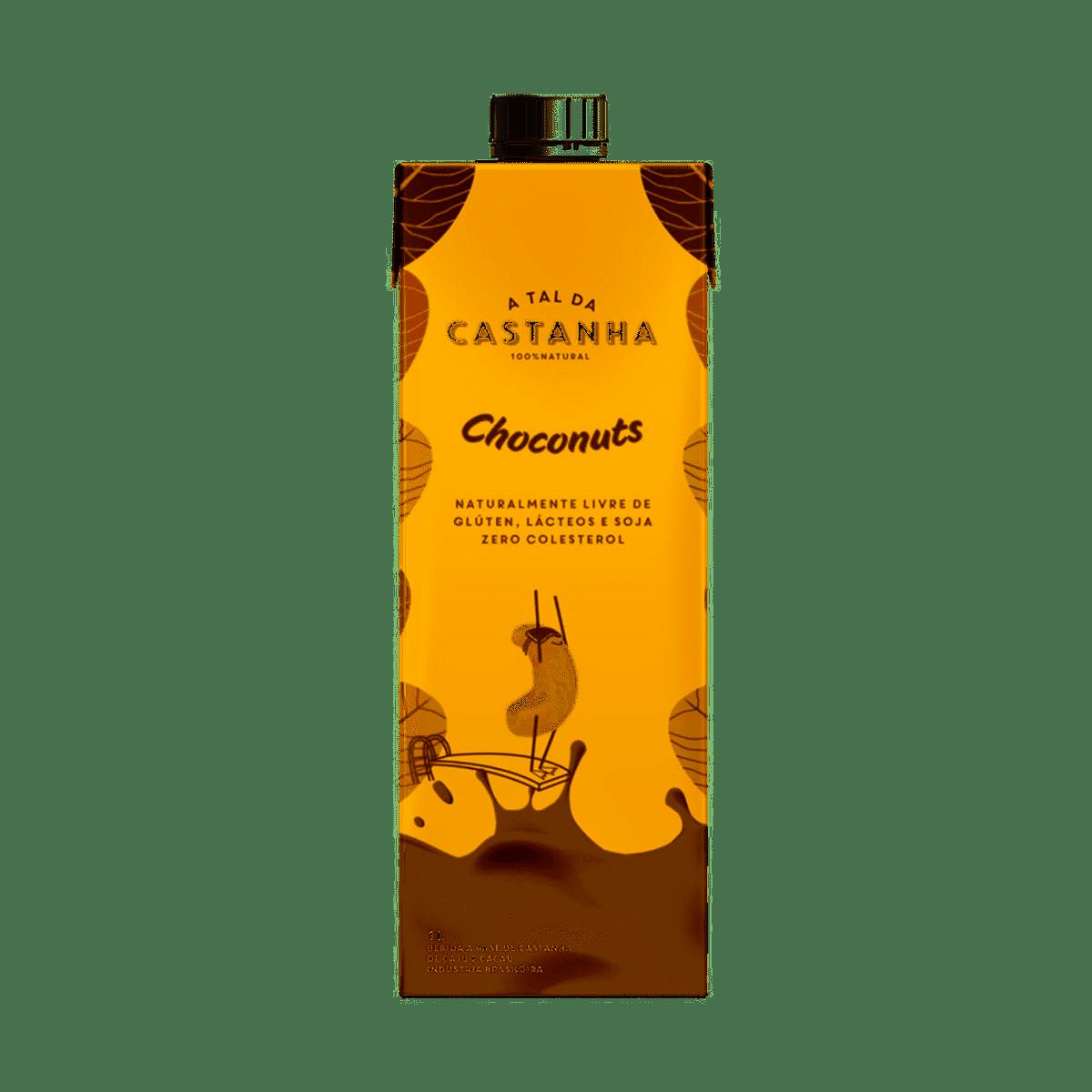 Bebida de castanha A TAL DA CASTANHA choconuts 1L
