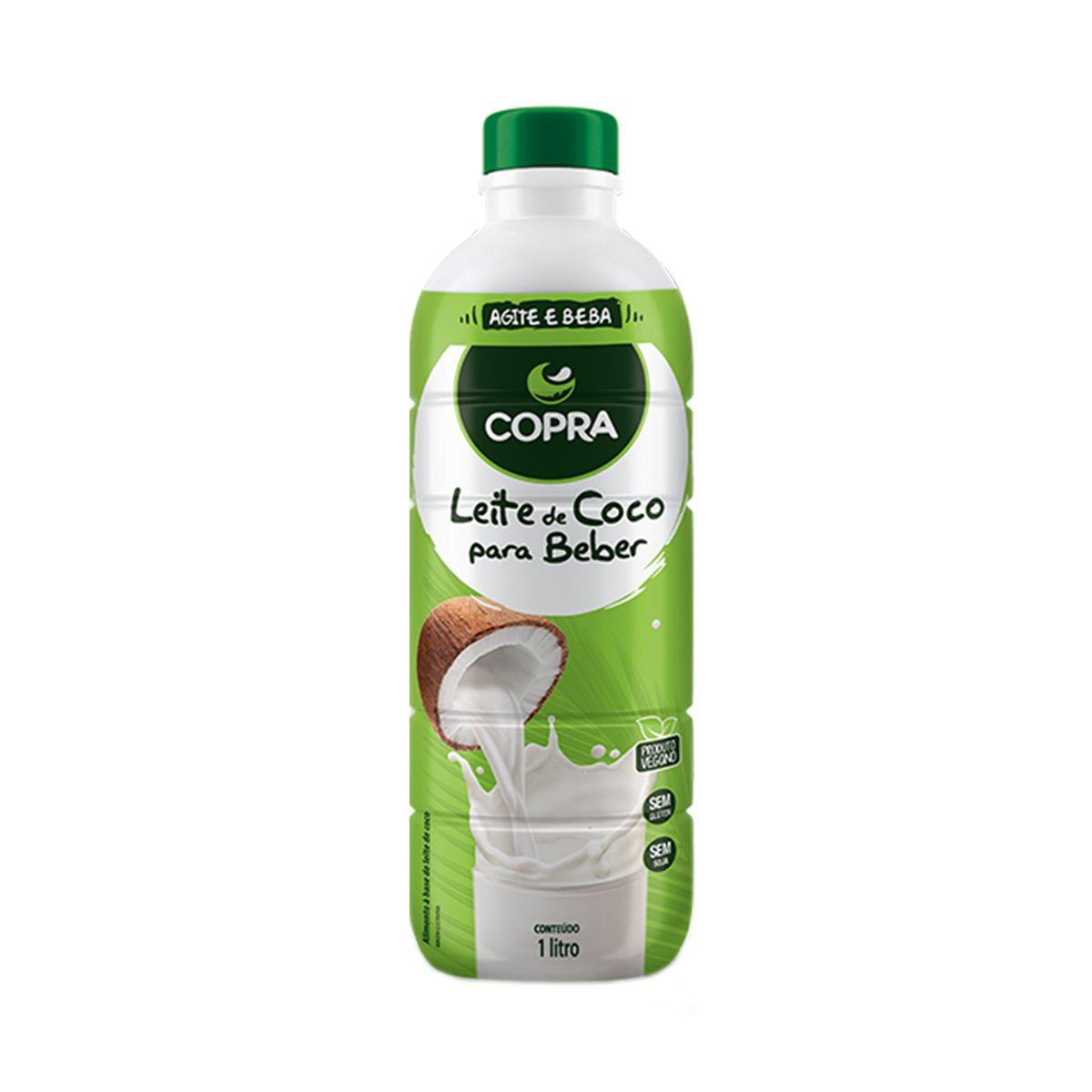 Bebida Leite de coco para beber 1L- Copra