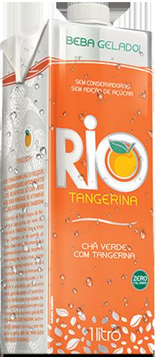 Bebida Rio Chá Verde com Tangerina - 1L
