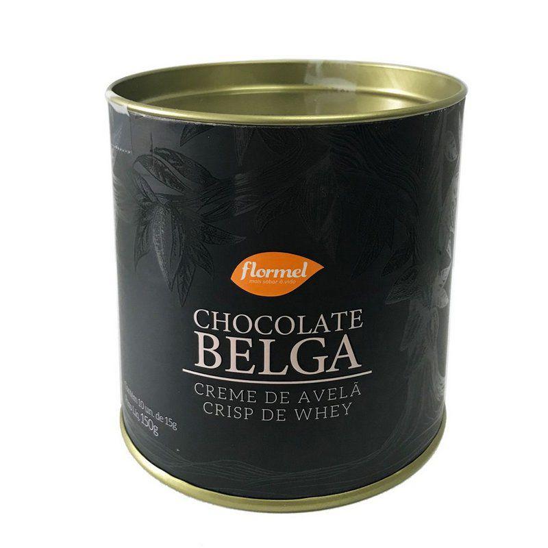 Bombom Belga 54% Cacau Crisp de Whey 150g