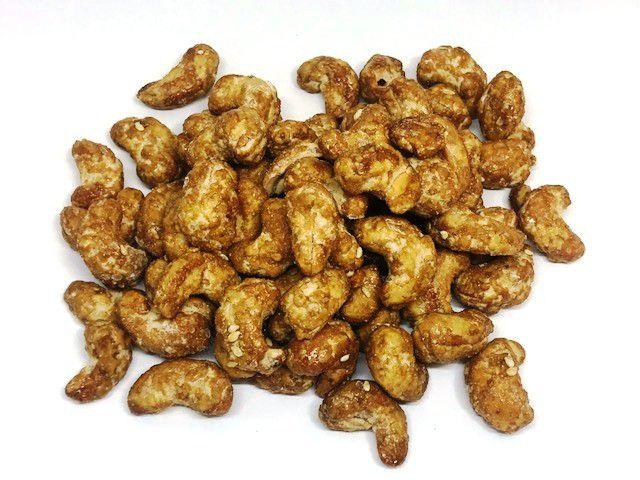 Castanha de Caju Doce - Caramelizada com Canela