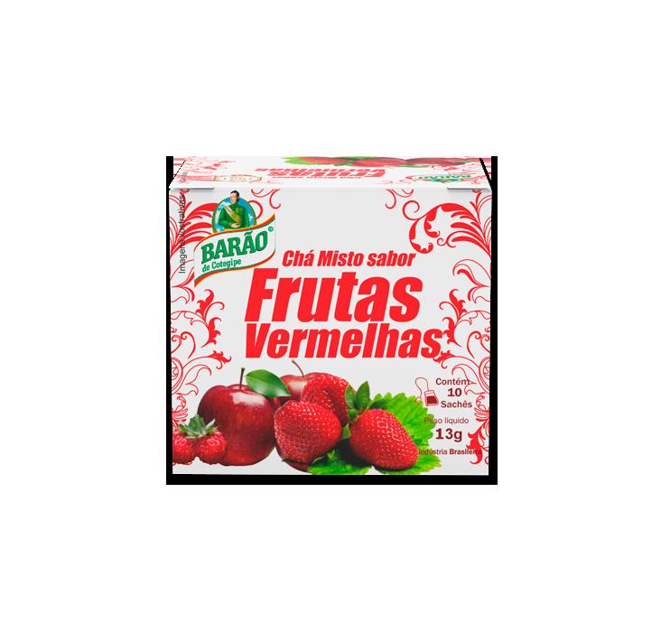 Chá de Frutas Vermelhas 10schs - Barão