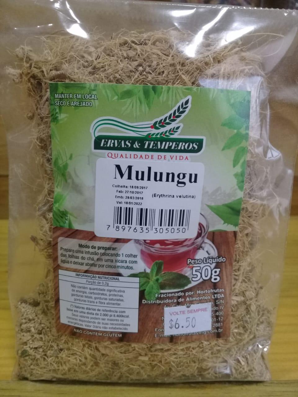 Chá de Mulungu - 100g