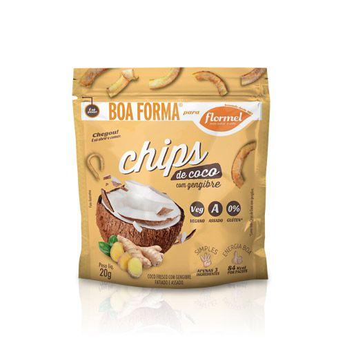 Chips de Coco com Gengibre  20g FLORMEL