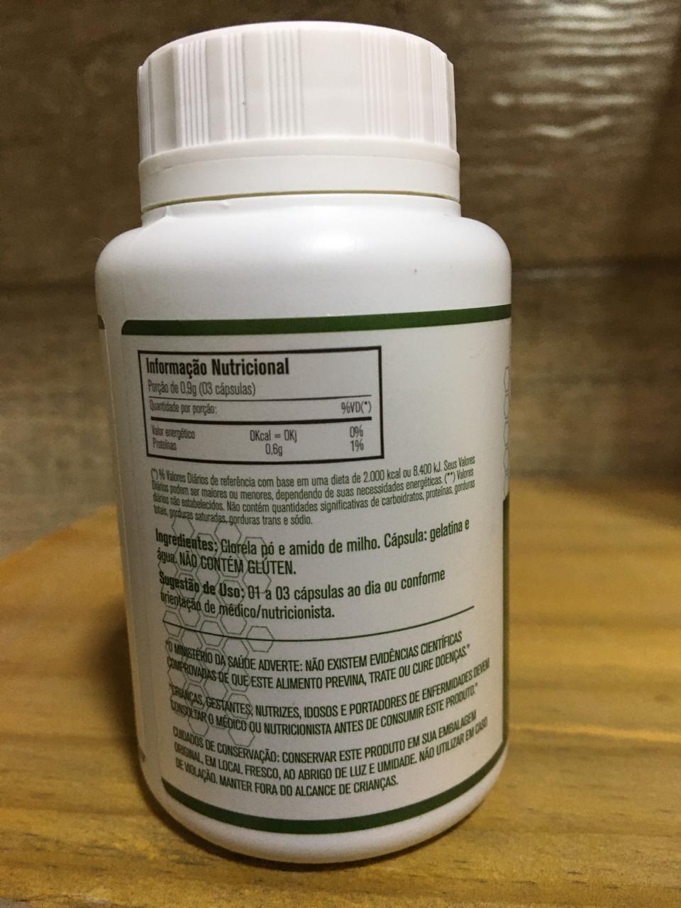 Chlorella 60 Cáps 300mg - União Vegetal