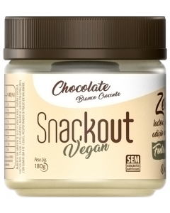 Chocolate Branco Crocante c/ Nibs Snackout Vegan 180g