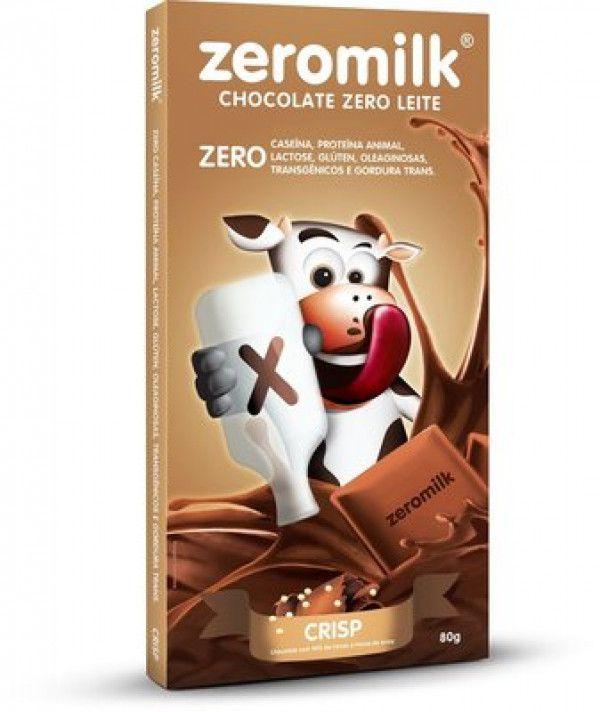 Chocolate zeromilk Crisp -80g