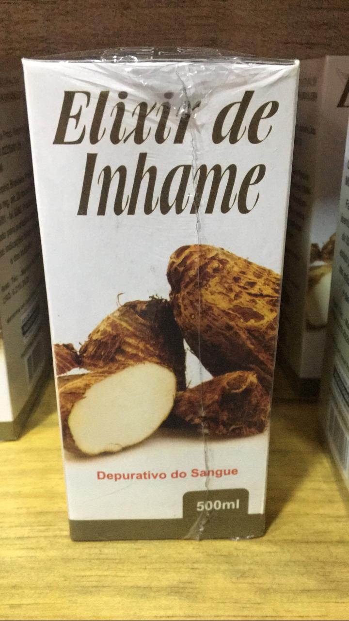 Elixir de Inhame 500ml - Saúde da terra