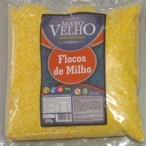 Flocos de Milho p/ Cuscuz 500g- Mano Velho