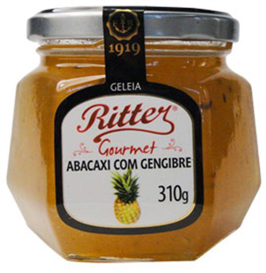 Geleia Gourmet Abacaxi com Gengibre RITTER 310g