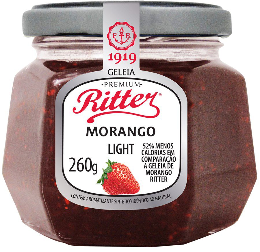 Geleia Light de Morango RITTER 260g
