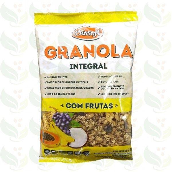 Granola Com Frutas Integral Zero Biosoft 230g