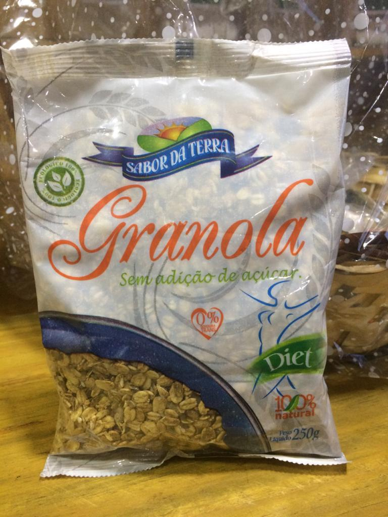 Granola Diet sem Adição de Açúcar 250g - SABOR DA TERRA