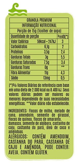 Granola Premium - Popai Snacks 100g