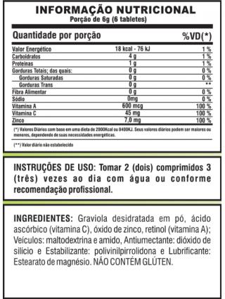 Graviola em cápsulas - 60 tabs
