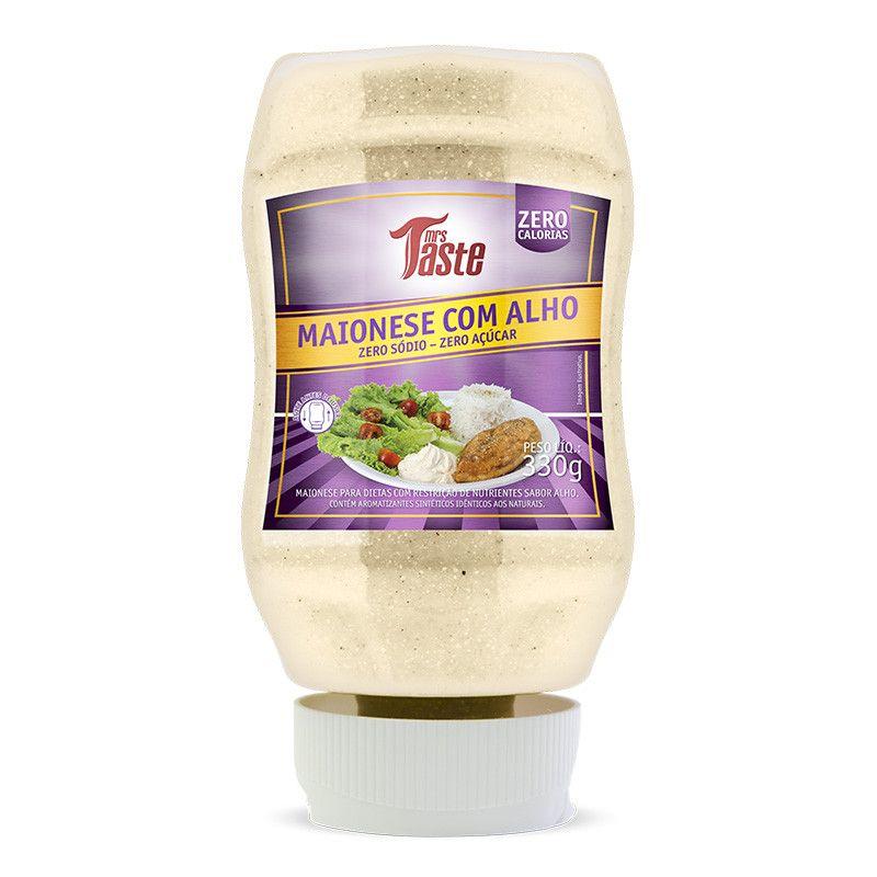 Maionese com Alho Zero Sódio/Açucar Taste 335g