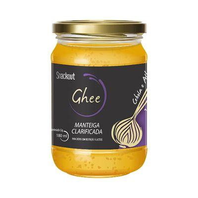 Manteiga Ghee c/ Cebola e Alho Snackout  180ml