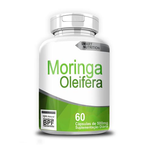 Moringa Oleifera c/ 120 Cápsulas 500mg - SMART NUTRITION