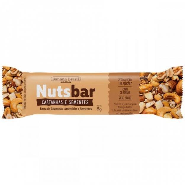 Nuts Bar Castanhas e Sementes 25g