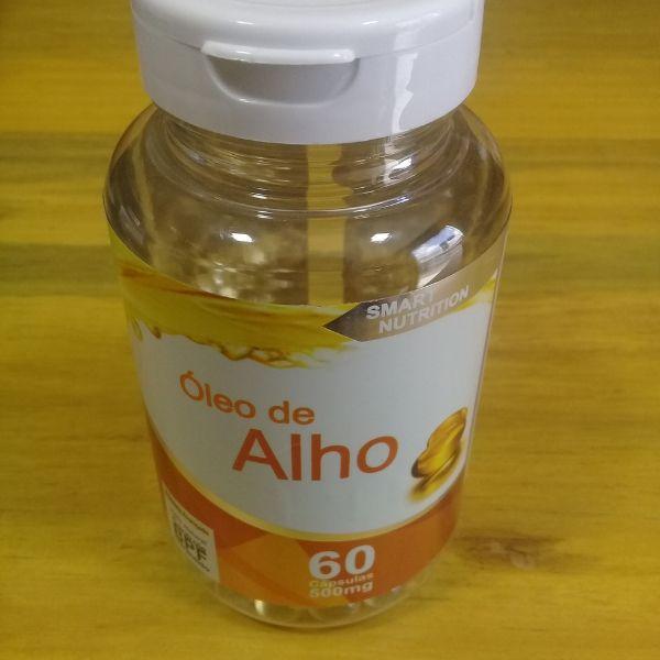 Óleo de Alho c/ 60 Cápsulas 250mg-4 Elementos