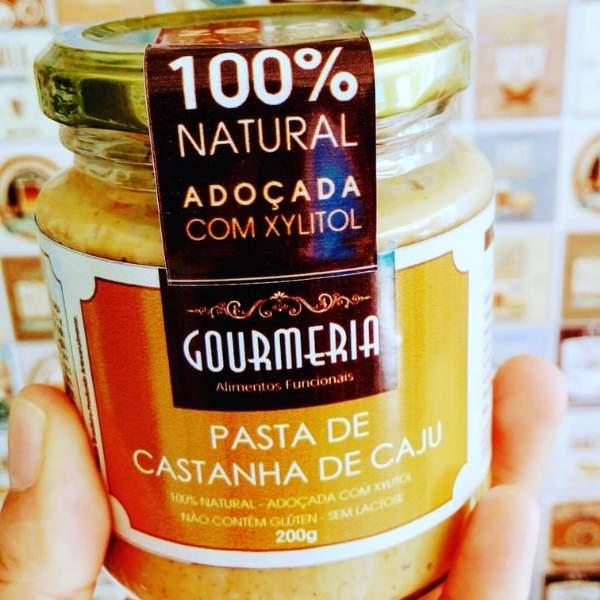 Pasta de Castanha de Caju Tradicional  200g - Gourmeria