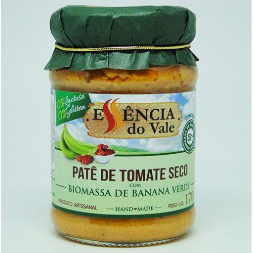Patê de Tomate Seco com Biomassa de Banana Verde 170g Essência do Vale