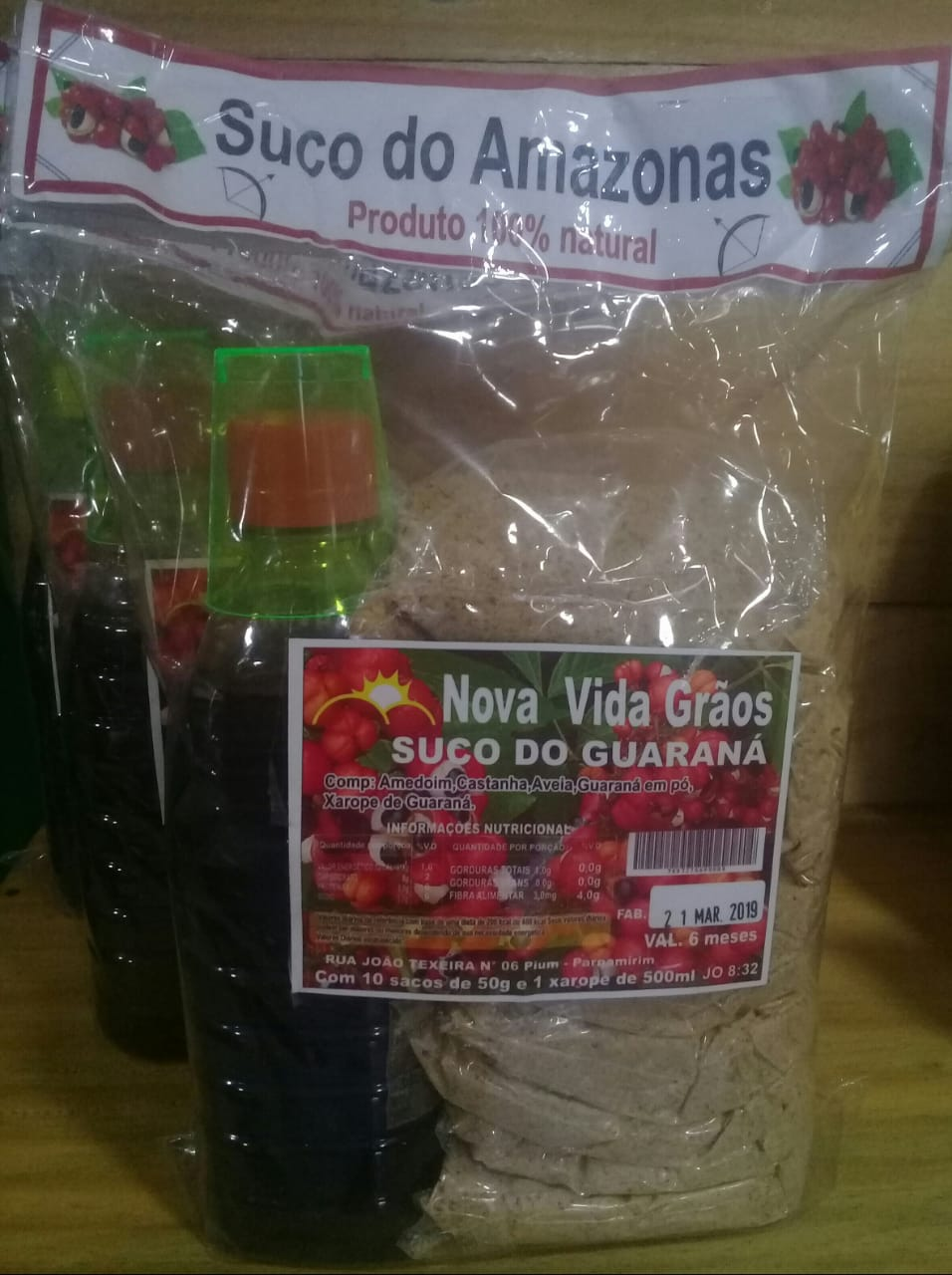 Suco do Guaraná do Amazonas
