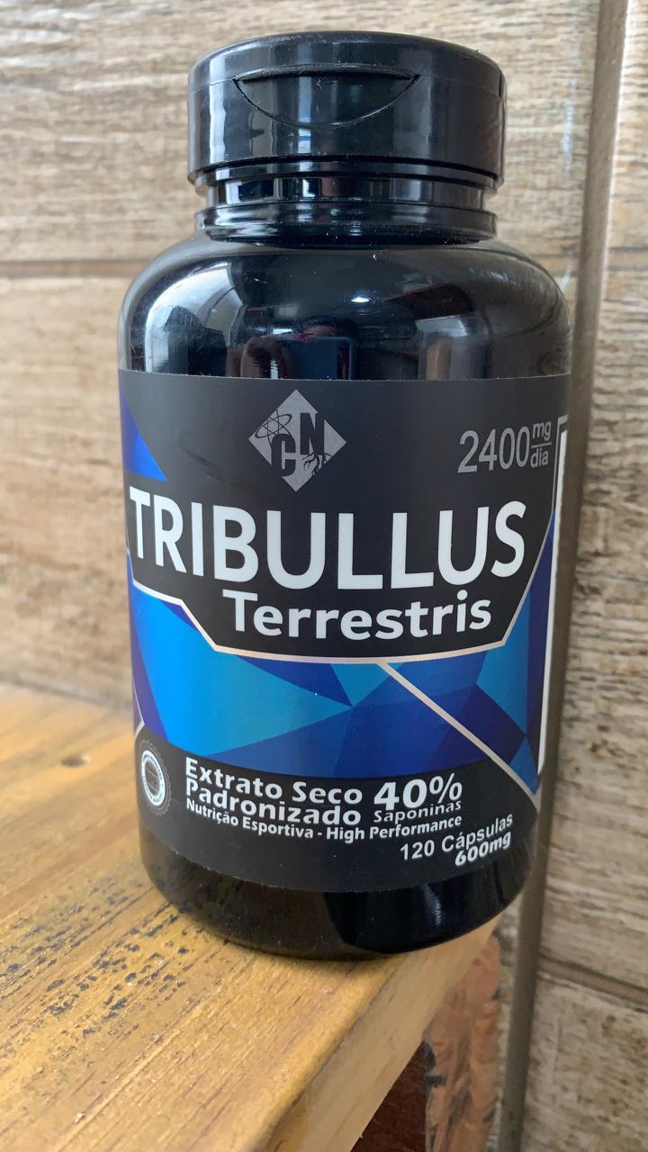 Tribulus Terrestris 120caps de 600mg - 40% saponinas