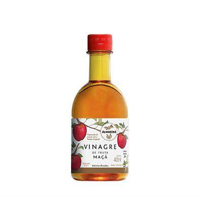 Vinagre de Fruta Maça 400ml ALMAROMI