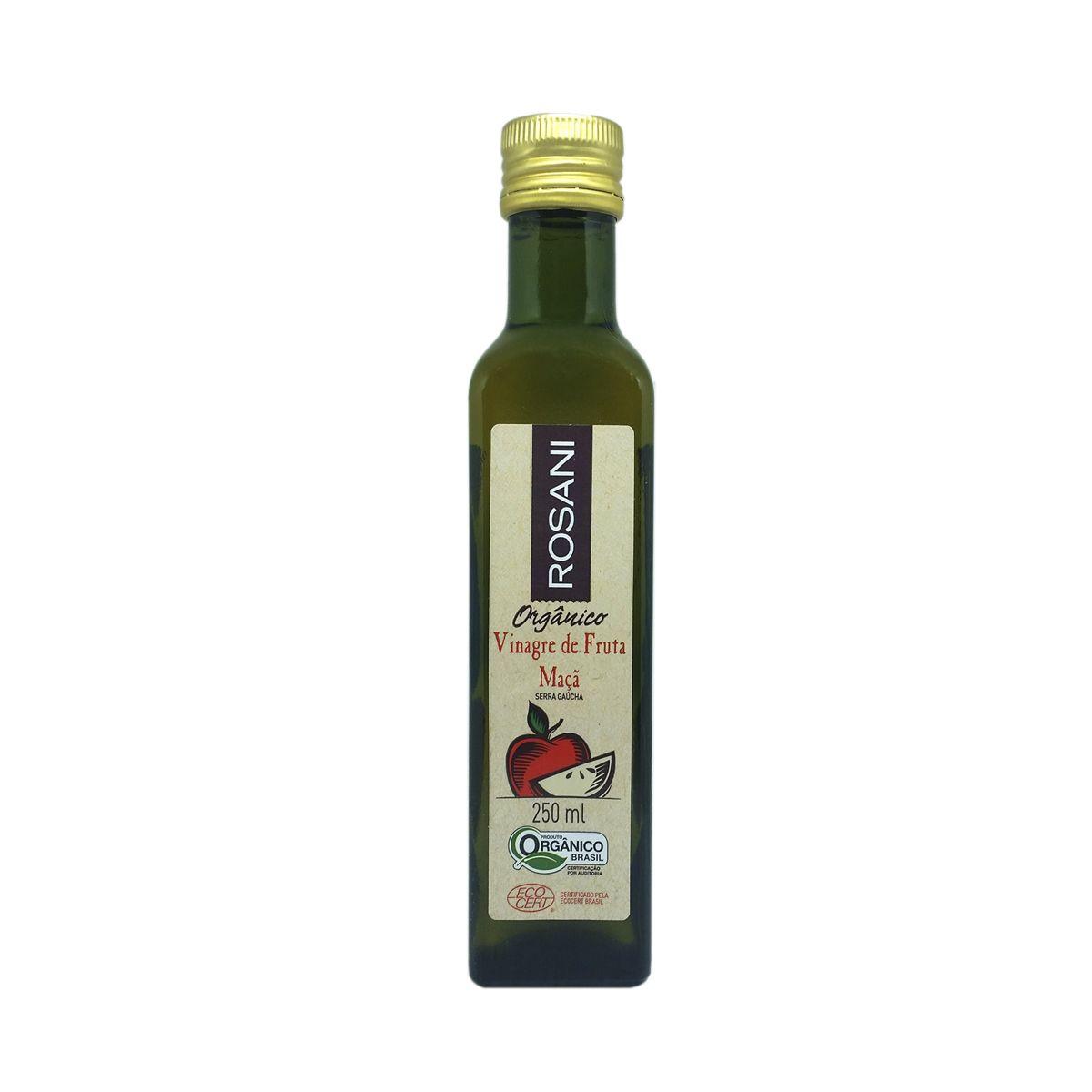 Vinagre de Fruta Maçã Orgânico 250ml ROSANI