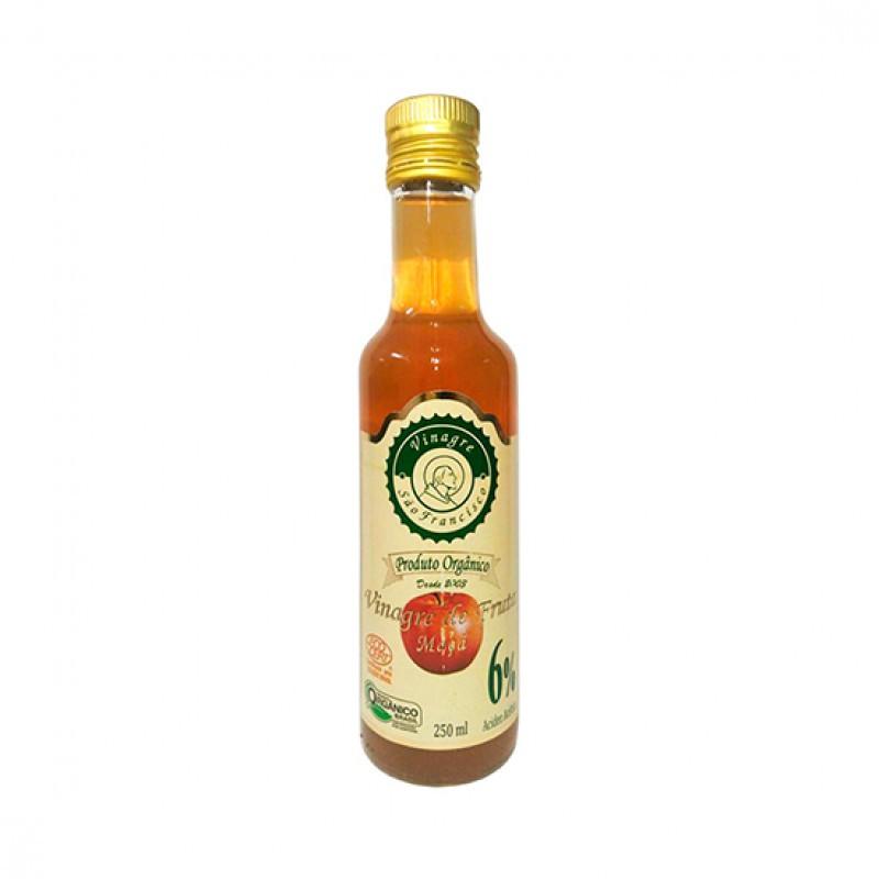 Vinagre de maçã organico São Francisco 250ml acidez 6%
