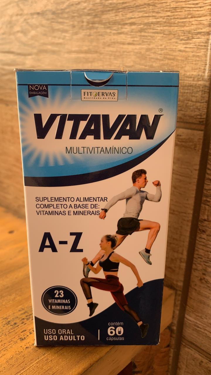 VitaVan Multivitaminico de A a Z 60caps - FitoErvas