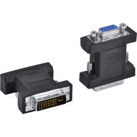 Adaptador DVI 24+5 Macho x VGA Fêmea - Vinik