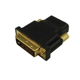 Adaptador DVI Macho x HDMI Fêma Gold