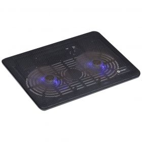 Base Para Notebook E Laptop Vinik Dynamic Wind Com 2 Fan LED Azul