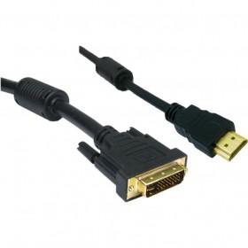 Cabo HDMI x DVI-I com Filtro 2m CBHD0002 Preto - STORM