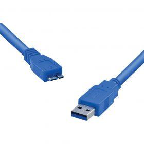 Cabo USB 3.0 - A (Macho) x Micro B (Macho) - Vinik