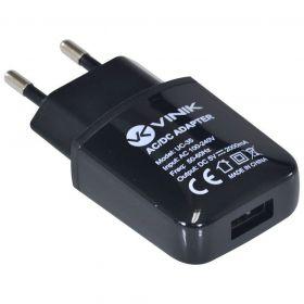 Carregador de parede USB 5V 2A Bivolt - Vinik