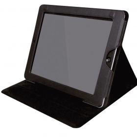 """Case Com Suporte Para Ipad E Tablet Até 10"""" Preta"""