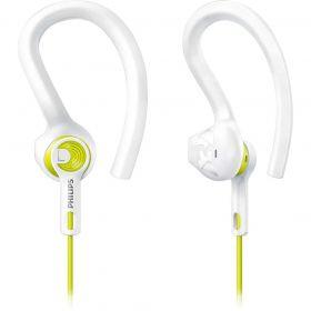 Fone de Ouvido Esportivo 3 em 1 - Branco/Amarelo - PHILIPS