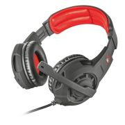 Headset Gamer - Trust Gxt 310 - Radius Preto/Vermelho - PS4 / XBOX ONE / Switch / PC
