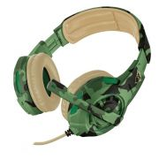 Headset Gamer - Trust Gxt 310C - Radius Jungle Camo - PS4 / XBOX ONE / PC / Switch / Mobile