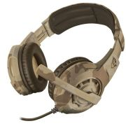 Headset Gamer - Trust Gxt 310D - Radius Desert Camo - PS4 / XBOX ONE / PC / Switch / Mobile