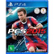 Jogo Pro Evolution Soccer 2015 (PES 15) - PS4 - Seminovo
