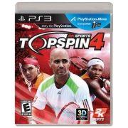 Jogo Top Spin 4 - PS3 - Seminovo