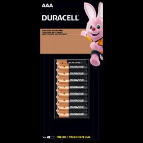 Kit Duracell Duralock Pilha Alcalina AAA (palito) C/ 16 Unidades