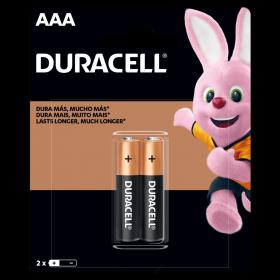 Kit Duracell Duralock Pilha Alcalina AAA (palito) C/ 2 Unidades