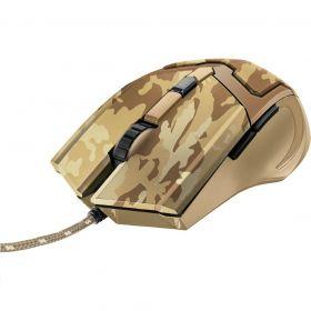 Mouse Gamer - GAV GXT 101D - Desert Camo - 6 Botões - 4800 DPI - Trust