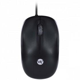 Mouse Óptico Ergonômico - Dynamic - 1200 DPI - Preto - VINIK